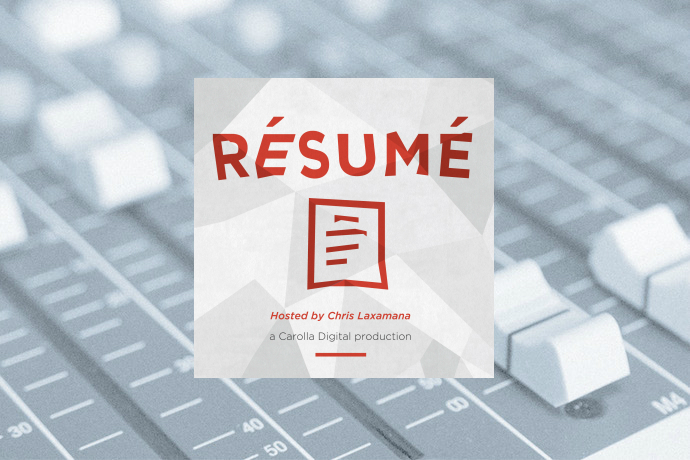 Resume hosted by Chris Laxamana