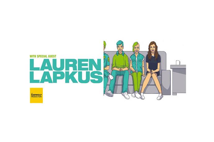 With Special Guest Lauren Lapkus