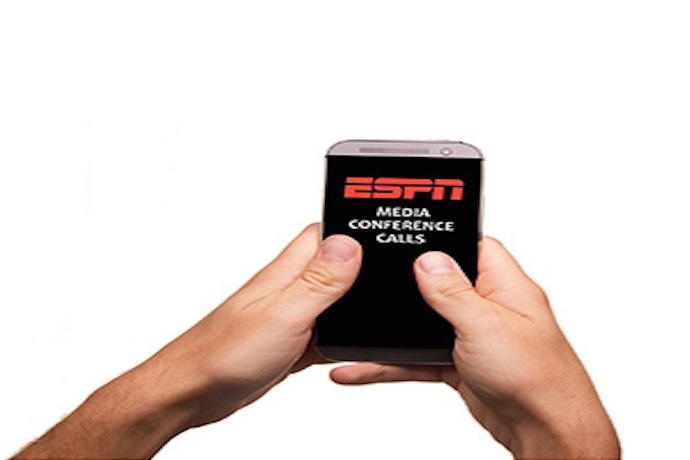 ESPN's Media Conference Calls