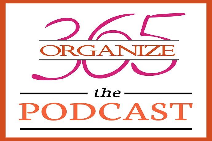 recipe: organize 365 podcast [5]