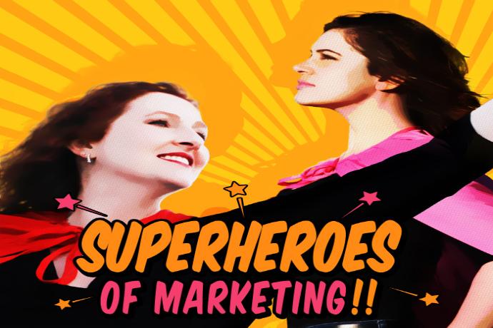 Superheroes of Marketing Podcast: Content Marketing, Lead Generation, Social Media Marketing