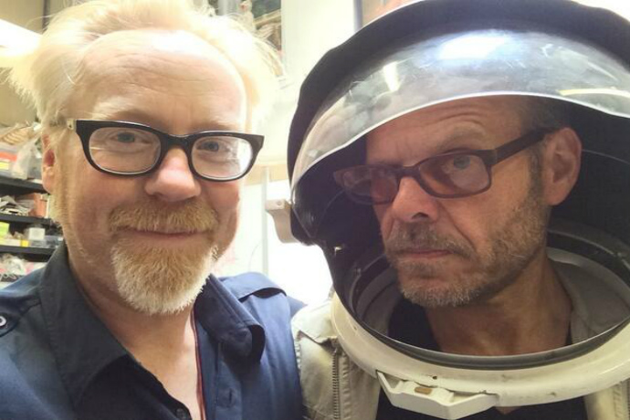 What This Chef and Engineer Have in Common: The Alton Browncast Guest Starring Adam Savage