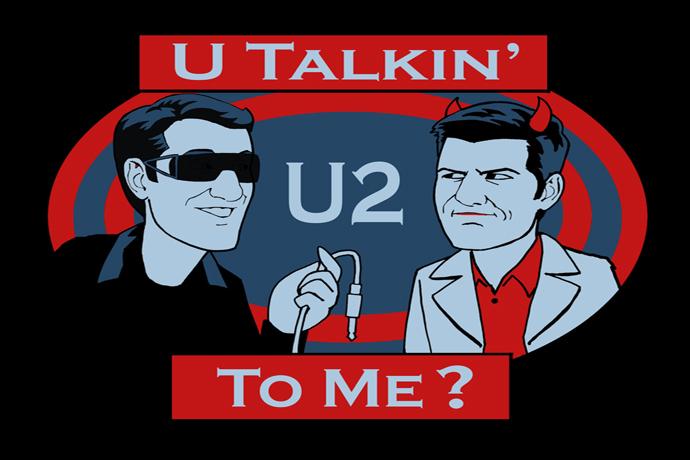 U Talkin' U2 To Me? Hosted by Adam Scott and Scott Aukerman.